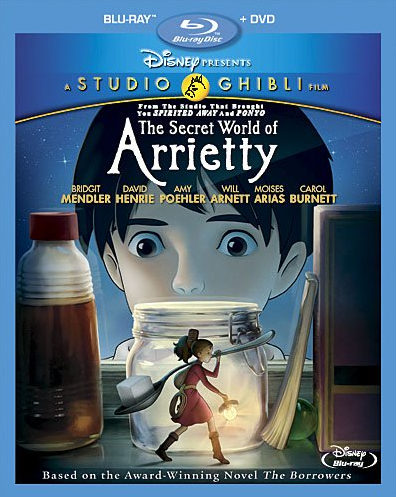 Secret World of Arriety, from Studio Ghibli
